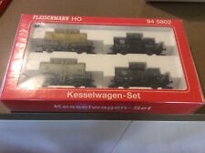 Model Trains Fleischmann. 4  ARMY Tanker Set 945820