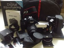CANON EOS 700D shutter count very low 393 plus bundle
