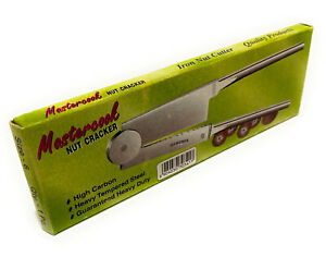 Tempered Steel NutCracker Betel Nut Supari Cutter Slicer Sarota Sorta - Size 6''
