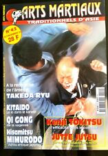 Arts Martiaux Traditionnels n°42; Jutte Jutsu/ Kenji Tokitsu/ Qi Gong/ Kitaido
