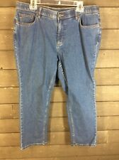 D&co 630 Blue Real Straight Jeans Women's 18