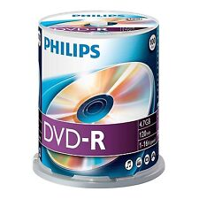 CD, DVD e Blu-Ray vergini Philips per l'archiviazione di dati informatici per 4,7GB