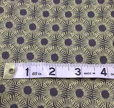 STOF Fabric, yellow grey retro, fat quarters,100% cotton, Punch MS 15-63