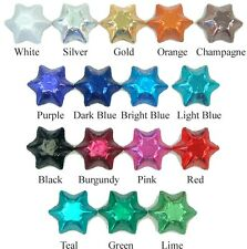 200 Creamy Milk Chocolates Stars in Foil for Weddings Birthday various colours