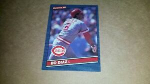 Bo Diaz (Baseball Card) 1986 Donruss #530