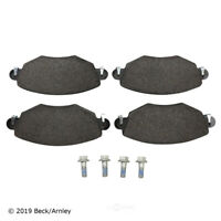 Disc Brake Pad Set Front Beck/Arnley 089-1743 fits 02-08 Jaguar X-Type
