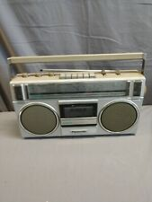 Vintage Panasonic, AM/FM Stereo & Cassette Player/Recorder. Boombox RX-4955