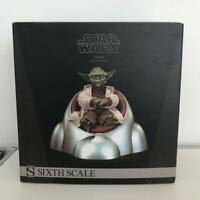 "Yoda Jedi Master STAR WARS SIDESHOW Collectibles 1:6 Scale 12"" EXCLUSIVE U177"