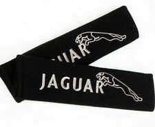 2 Pieces Jaguar SeatBelt Pad Cover Shoulder Safety Soft Seat Belt Pads - UK