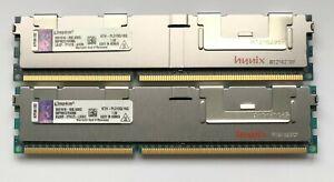 32gb (2x16gb)  Kingston KTH-PL310Q/16G Memory DDR3-1066MHz PC3-8500R ECC Reg