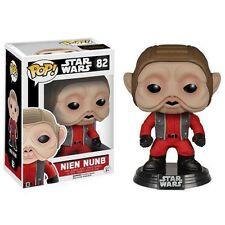 Star Wars VII Nien Nunb Pop! Vinilo Bobble Head