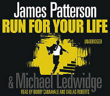 Run For Your Life  by James Patterson CD-Audio 2009...Unabridged