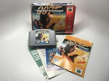 007: THE WORLD IS NOT ENOUGH - N64 CIB COMPLETE GAME (GAME, BOX AND MANUAL)