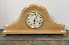 Walnut Hollow Mantel Clock Solid Pine Ready To Paint Craft NEW