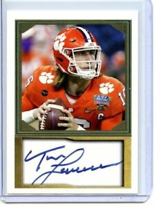 TREVOR LAWRENCE - CLEMSON TIGERS - FOOTBALL CARD - FREE SHIPPING !!!!