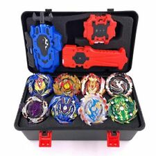 Tops Set Launchers Beyblade Toys Toupie Metal God Burst Spinning Top Bey Blade