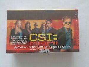 CSI Miami    Series 2    Trading Card Sealed   Booster Box