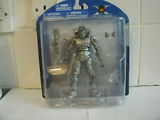"HALO UNIVERSE 10th ANNIVERSARY PLATINUM MASTER CHIEF SEALED NEW 6"" FIGURE V RARE"