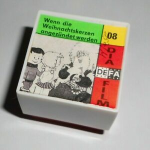 DDR Pouva magica DEFA Color Bildband Rollfilm 1 Diafilm Wenn die Weihnachtskerze