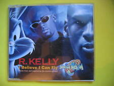 R KELLY-I BELIEVE I CAN FLY. 1996 4 TRACK CD SINGLE. POP DISCO SOUL