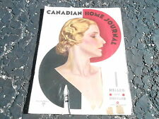 SEPT 1945 CANADIAN ladies HOME JOURNAL vintage womans magazine