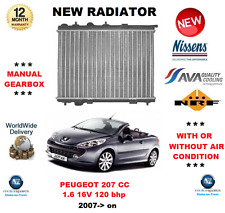 FOR PEUGEOT 207 CC WD 1.6 16V 120 BHP 2007> on NEW RADIATOR ** OE QUALITY **