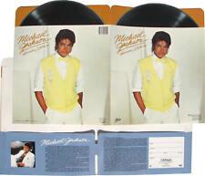 Michael Jackson Pochette Chemise Mappe Portfolio School Folder 1983