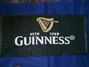 Guinness Beer Bar Towel Pub Home Bar Man Cave Shed New