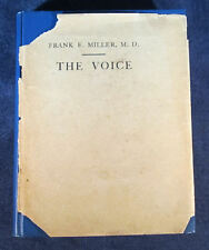 The Voice by Frank E. Miller M.D. (1910 Hardcover) 6th Edition