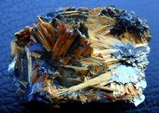 Rutile On Hématite Novo Horizonte Brasil / Brésil Beautiful Nice piece Minéraux