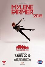 Places Concert 14/06/2019 assises Mylène Farmer 2019 - Paris la Défense Arena