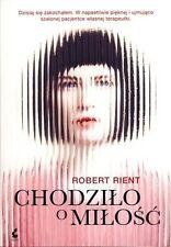 Chodzilo o milosc, Robert Rient, polish book, polska ksiazka