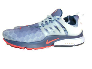 Nike Sneakers Blue Red White Lace Up Air Presto Navy USA 2020 Mens XL (13-15)