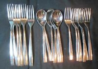 Cambridge Vintage Stainless 18 Pieces - Dinner Forks, Salad Forks, Spoons