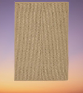New HELLESTED Rug, flatwoven, natural/brown 133x195 cm or 170 x 240 cm IKEA