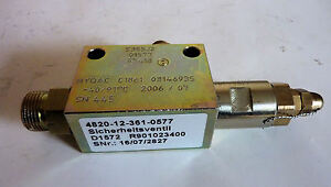 HYDAC Hydraulik-Sicherheitsventil 200 bar,DBV ,Hydraulikzylinder,Hydraulikanlage