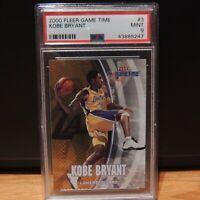 2000 Kobe Bryant Fleer Game Time PSA 9 MINT LA Lakers #3
