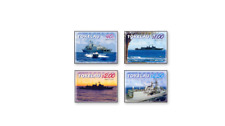 TOK0601 British warships - 4 pieces. MNH TOKELAU 2006
