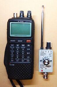 HF Antenna for Icom R20 AOR 8200 Kenwood TH-D74 Yaesu VR500 Alinco DJ-X11 Radios