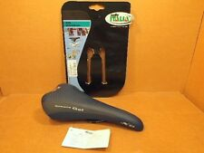 New-Old-Stock Selle Italia XO Gel Saddle w/Two-Tone Blue/Gray Cover