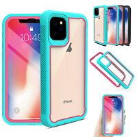 For iPhone 11 Pro Max 2019 Shockproof Hybrid Case Rugged Heavy Duty Bumper Cover