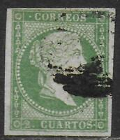 Spain stamps 1856 MI 35 PhotoAttest Comex CANC VF