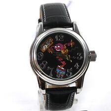 The Muppets Reloj De Mujer Automático babie Pulsera cuero sammleruhr Limitado