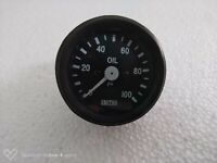 Smith Black Oil Pressure Gauge 0-100 psi Black Bezel replica mechanical 52 mm