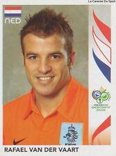 N°238 RAFAEL VAN DER VAART # NETHERLANDS STICKER PANINI WORLD CUP GERMANY 2006