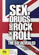 Sex, Drugs And Rock 'n' Roll - The 60's Revealed (DVD, 2009)