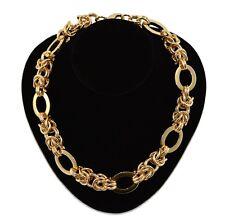 Vanitzi Paris Collection Gold Plate/Tone Multi Link Chain Necklace - RRP $69