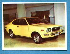 AUTO FLASH - Ed.COX - Figurina/Sticker n. 39 - MAZDA 818 COUPE -New