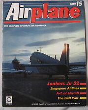 Airplane Issue 15 Junkers Ju 52 cutaway & poster