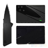 Blade Outdoor Black Sharp Handy Cardsharp Credit Card Safety Folding Knife B14U